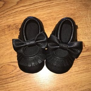 Other - Black Moccasins | 12-18 month